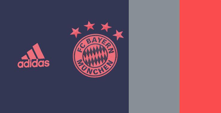 Bayern Munich 2020 couleurs maillot third football