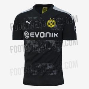 Borussia Dortmund 2020 maillot exterieur foot 19 20