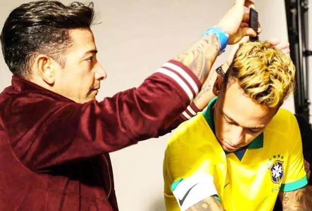 Brésil 2019 maillot de foot domicile Neymar