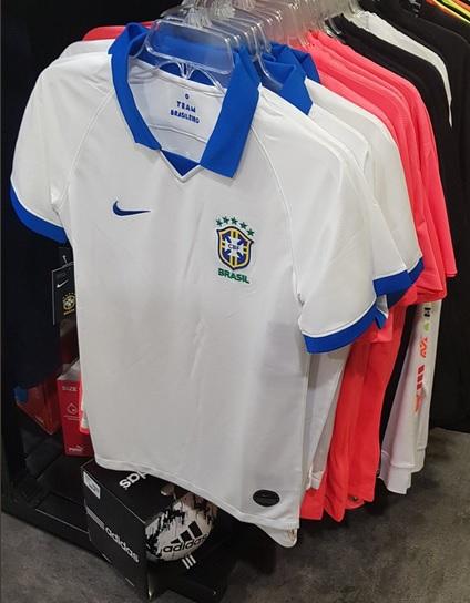 Brésil 2019 maillot de foot extérieur Copa America