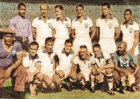 Brésil 1950 maillot blanc