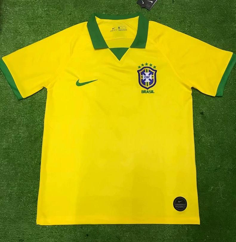 Brésil 2019 maillot domicile Copa America 2019