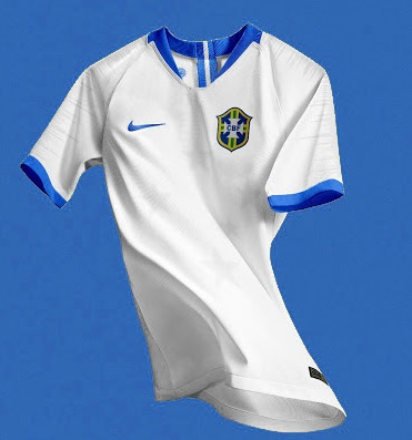 Brésil 2019 possible maillot blanc exterieur