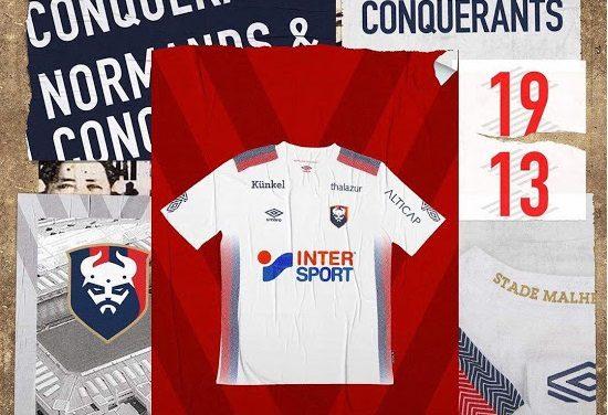 Nouveaux maillots de Caen 2019-2020 chez Umbro