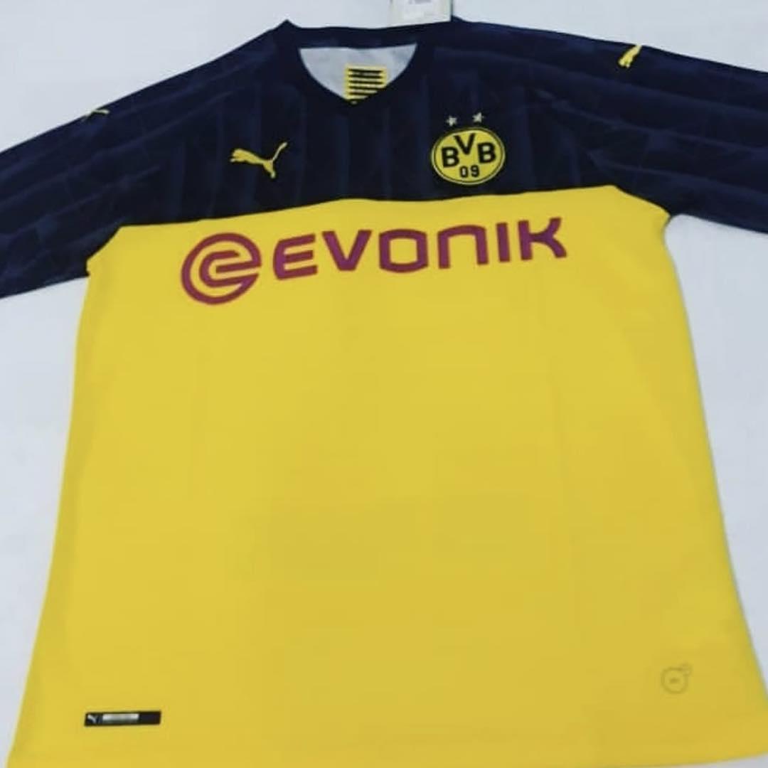 Dortmund 19 20 champions league maillot