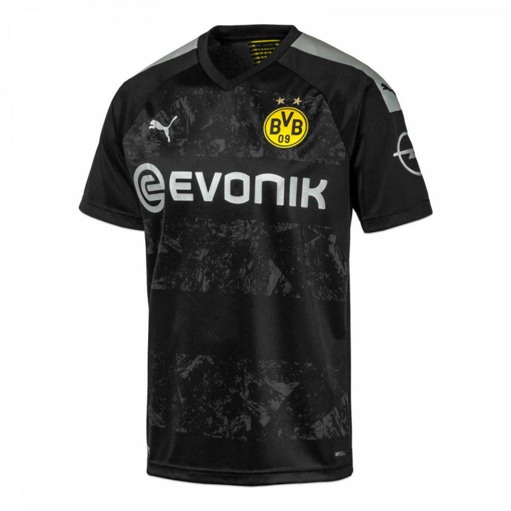 Dortmund 2019 2020 maillot exterieur football