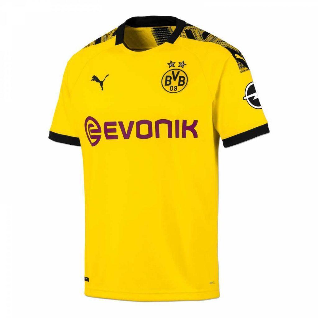Dortmund 2020 maillot domicile football Puma