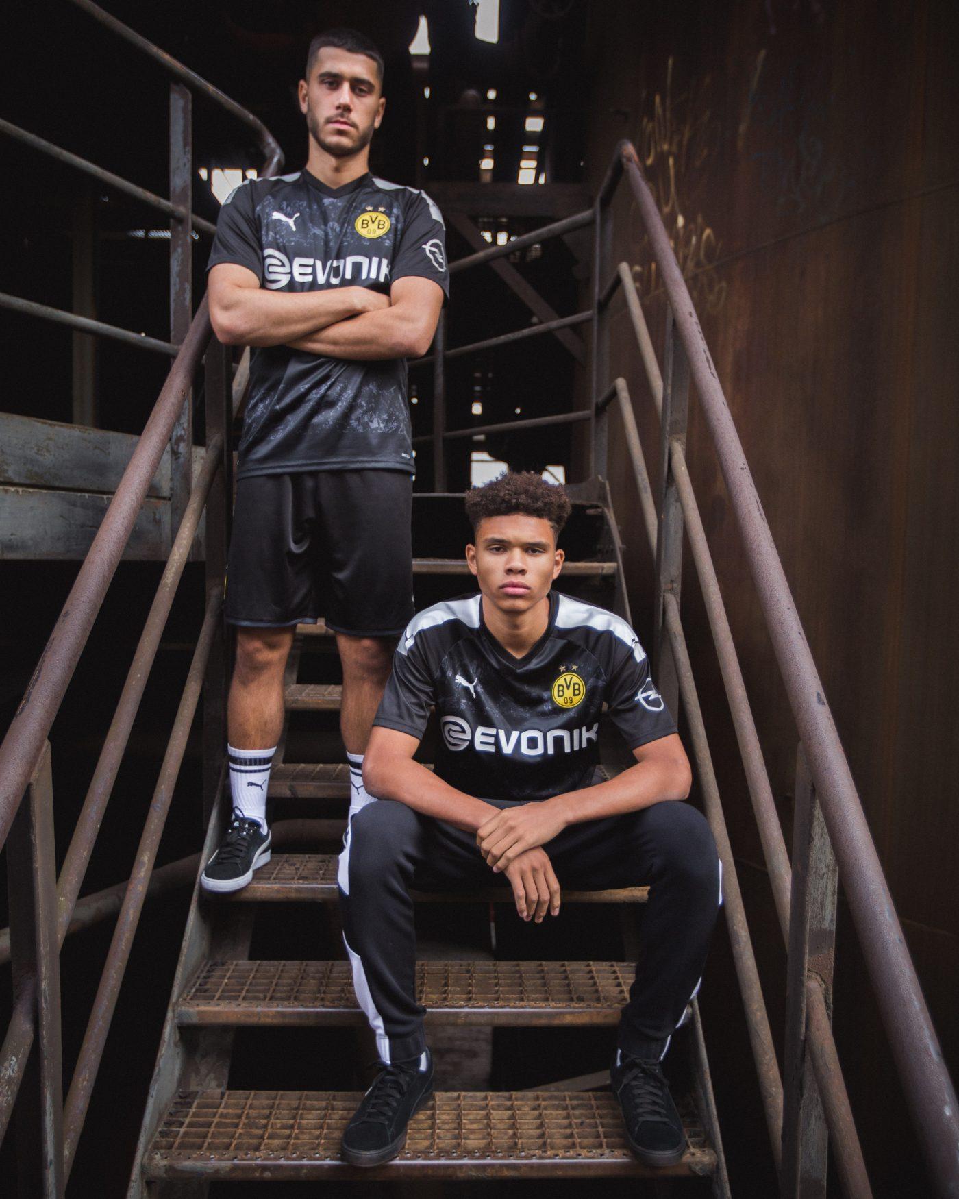 Dortmund 2020 maillot exterieur 19 20