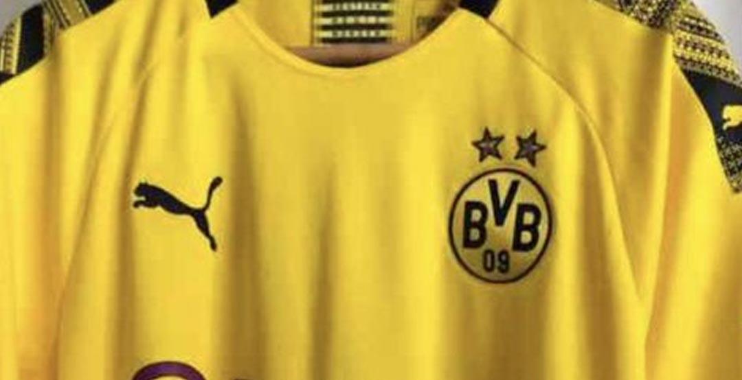 Dortmund 2020 maillot foot domicile BVB 19 20