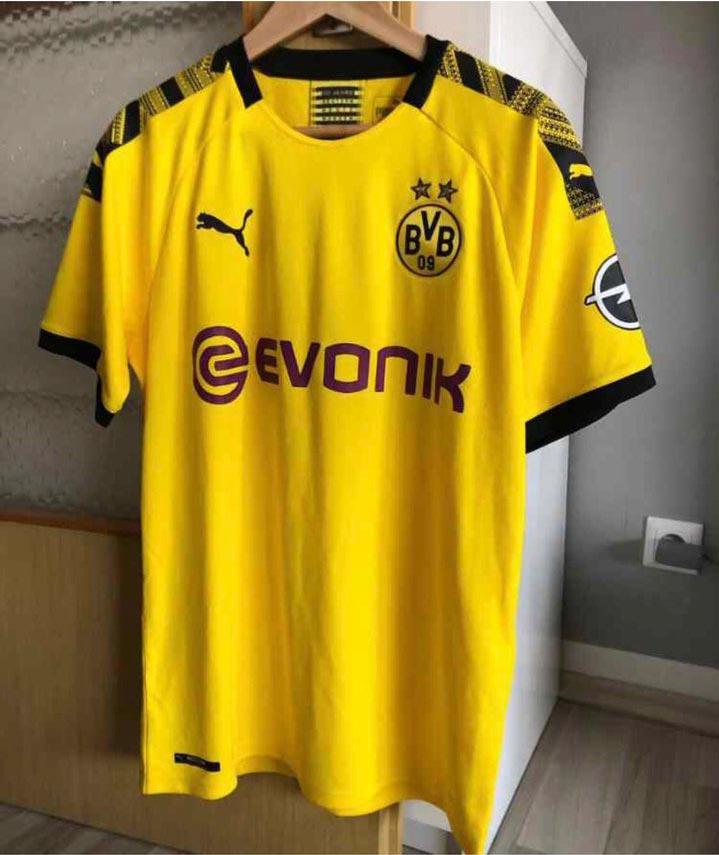 Dortmund 2020 maillot foot domicile Puma