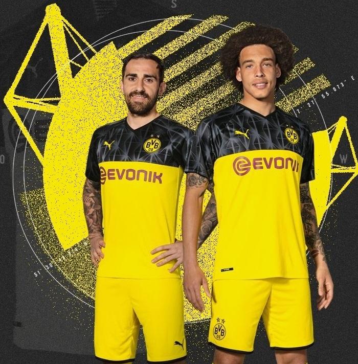 Dortmund 2020 maillot ligue des champions