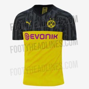 Dortmund maillot de coupe 2019 2020