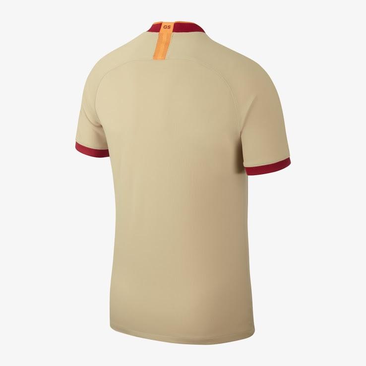 Galatasaray 2019 2020 dos maillot exterieur football Nike
