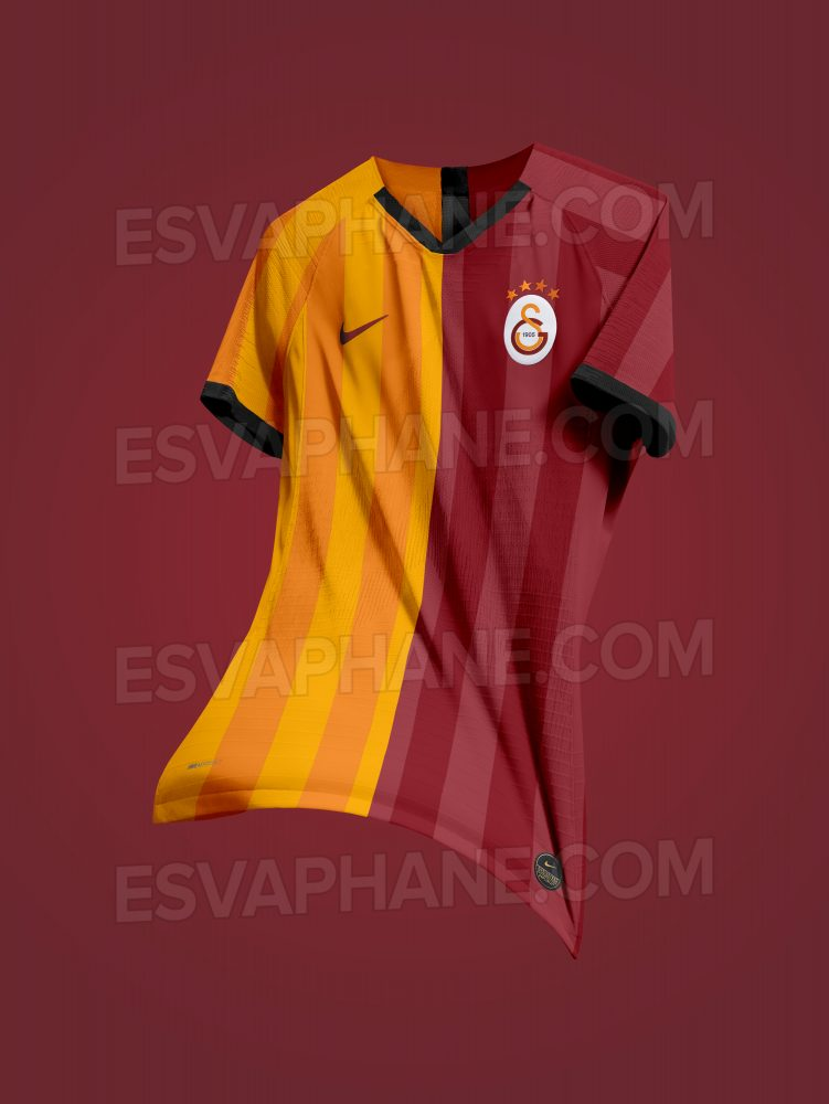 Galatasaray 202 possible maillot domicile foot