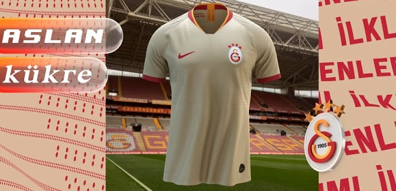 Galatasaray 2020 maillot exterieur officiel