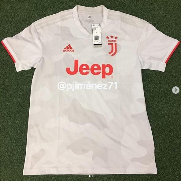 Juventus 2019 2020 maillot exterieur football Adidas