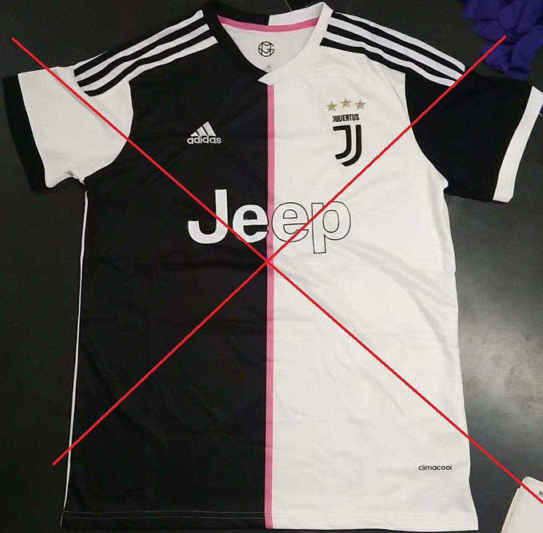 Juventus 2020 faux maillot domicile