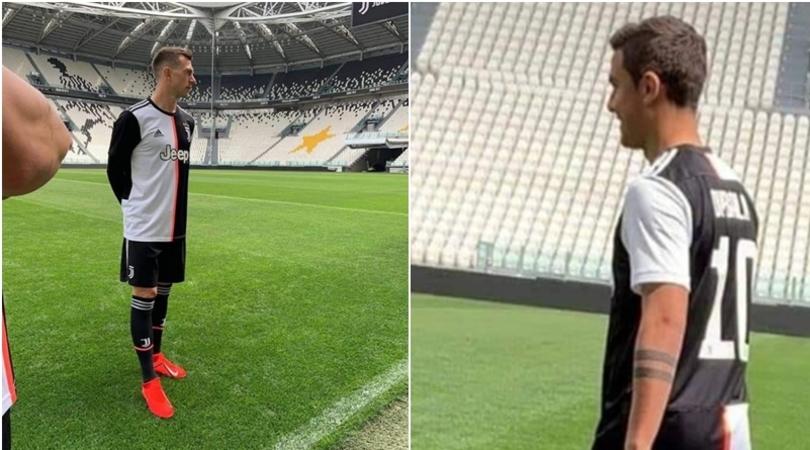 Juventus 2020 maillot domicile fuite