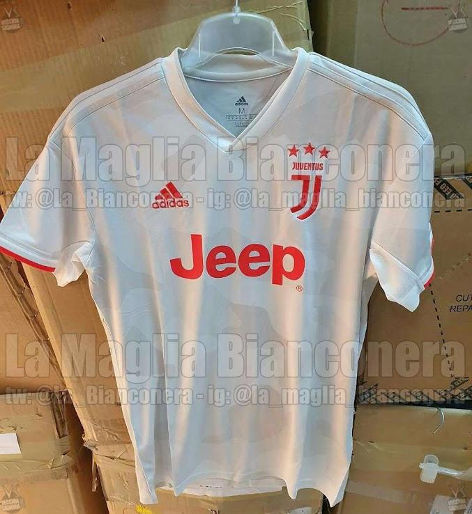 Juventus 2020 maillot exterieur 19 20 Adidas