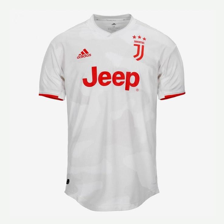 Juventus 2020 maillot exterieur foot Adidas officiel
