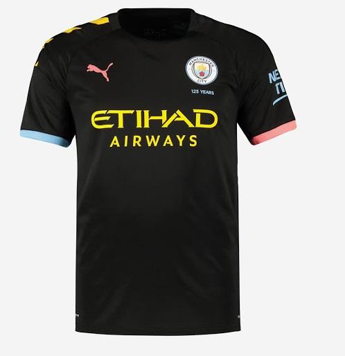 Manchester City 2019 2020 maillot exterieur Puma 19 20