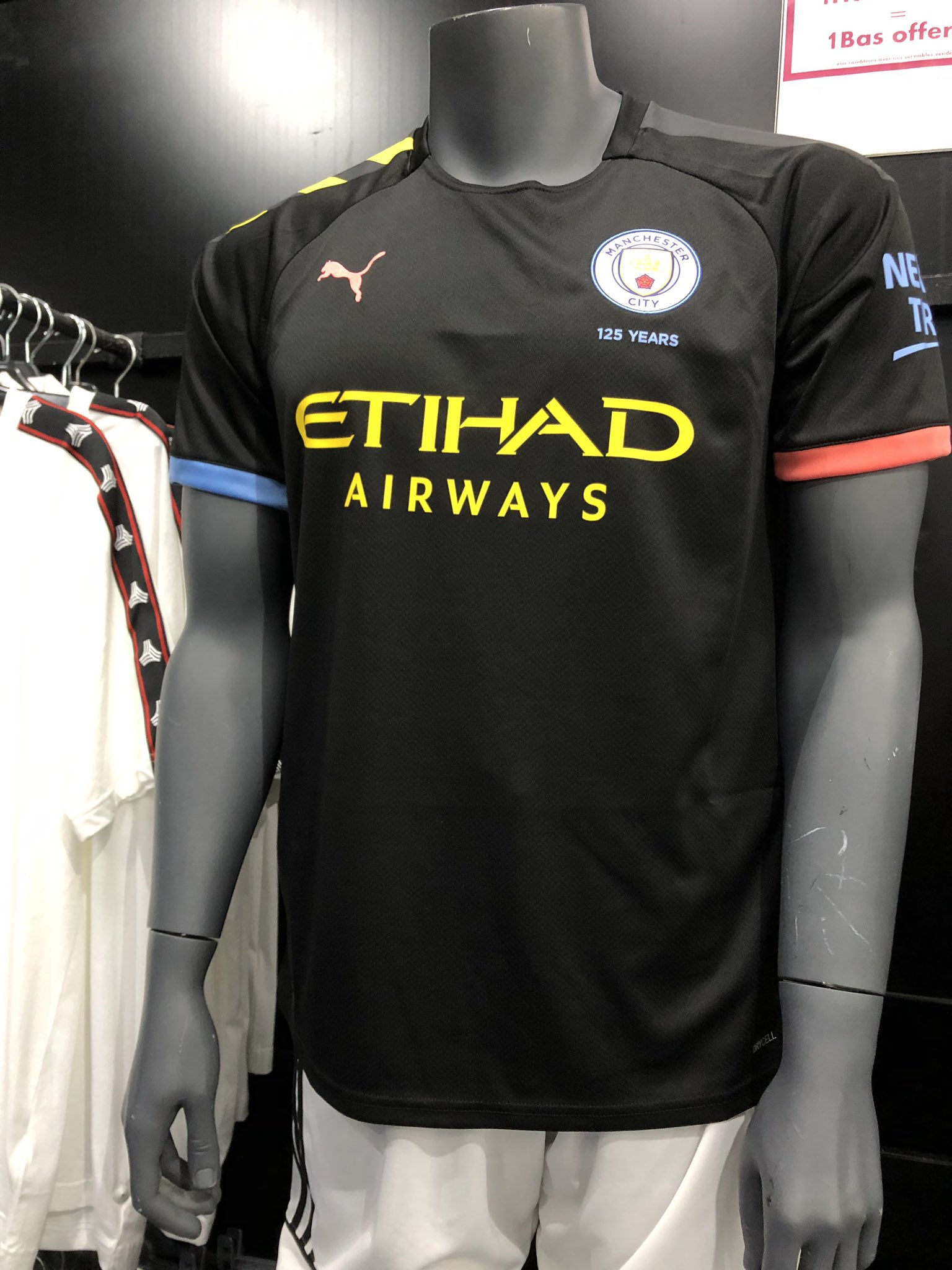 Manchester City 2019 2020 maillot exterieur football