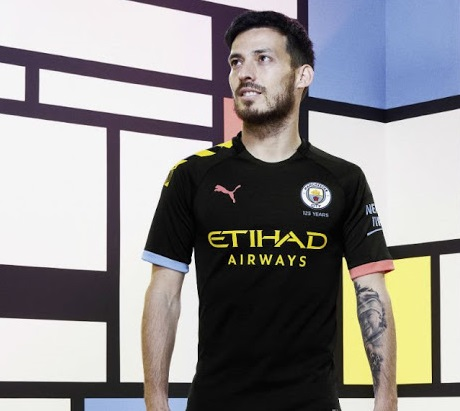 Manchester City 2019 2020 nouveau maillot exterieur foot