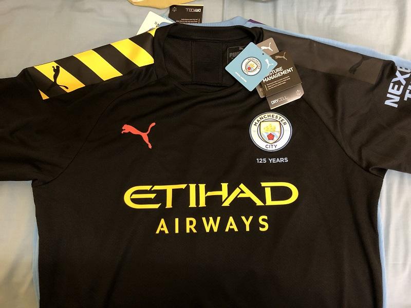 Manchester City 2020 maillot extérieur 19 20