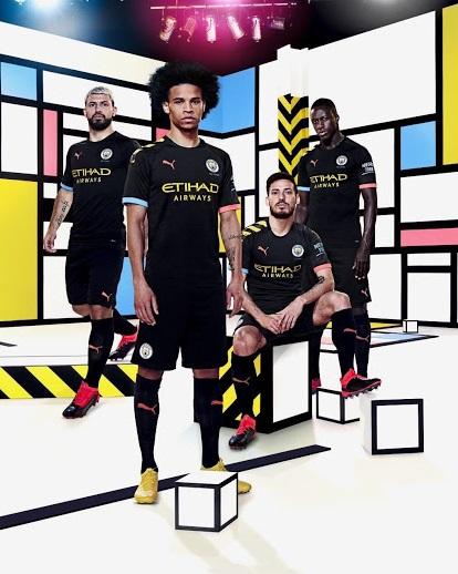 Manchester City 2020 nouveau maillot exterieur foot