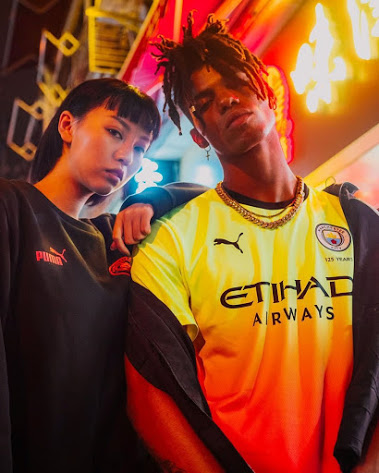 Manchester City 2020 nouveau maillot third 19 20 Puma