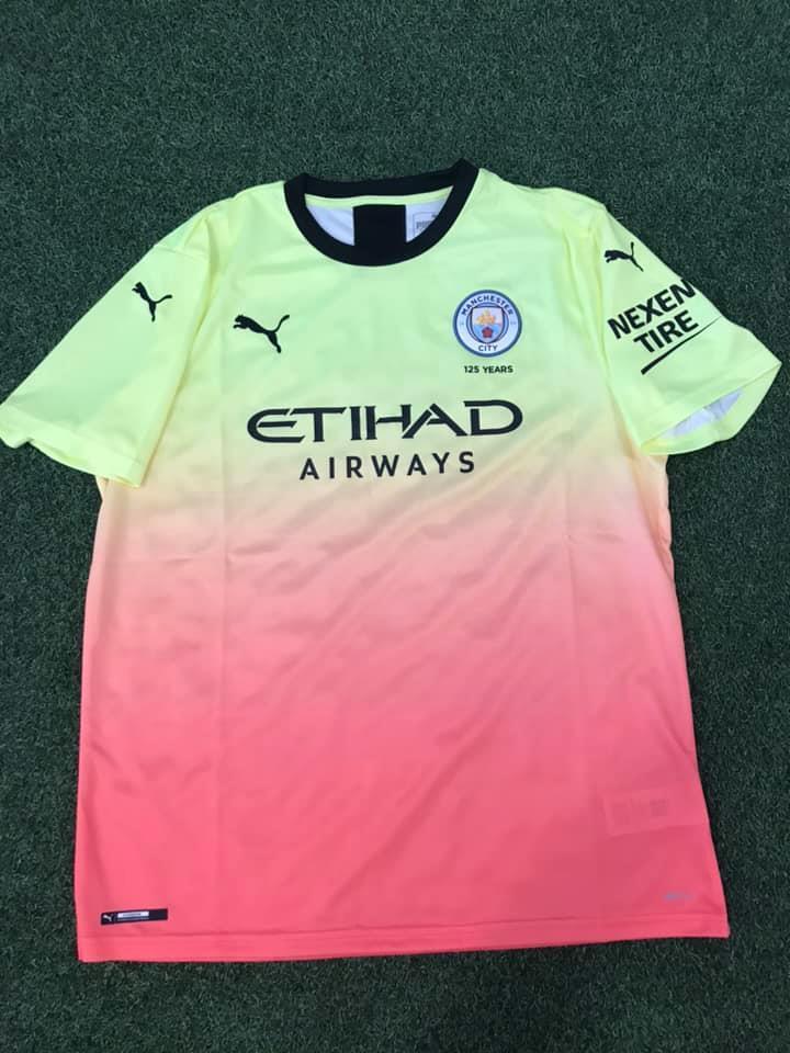 Manchester City 2020 nouveau maillot third football 19 20