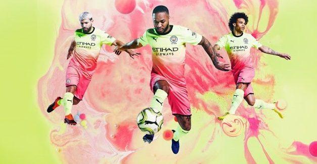 Les maillots de football Manchester City 2020 passent chez Puma