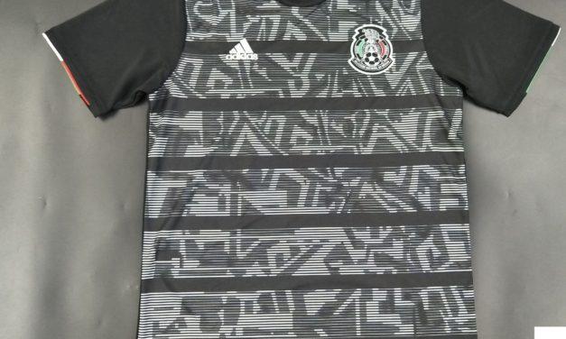 Les maillots de football du Mexique 2019 pour la Gold Cup