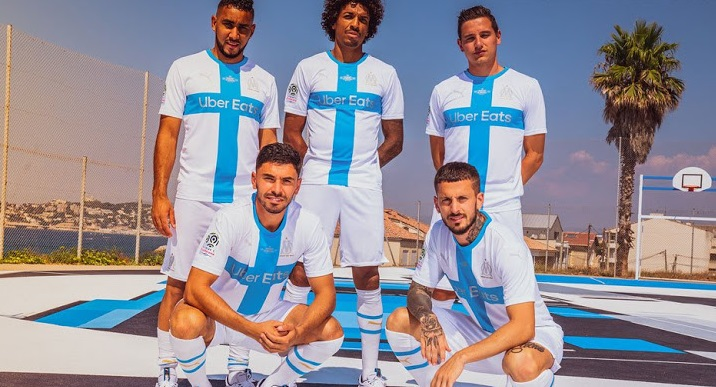OM 2019 2020 nouveau quatrieme maillot fourth football