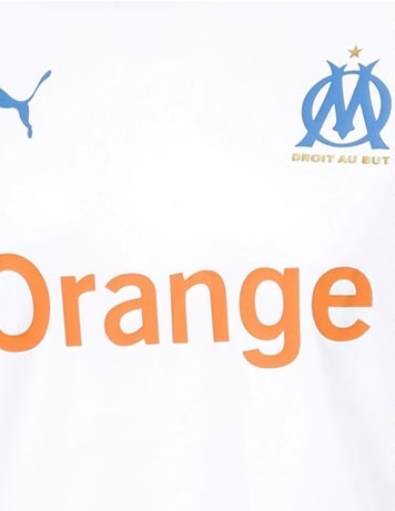 OM 2020 couleurs maillot domicile football