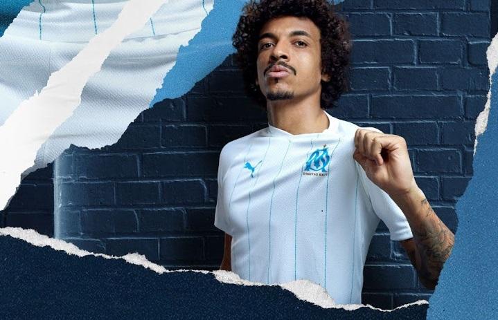 OM 2020 nouveau maillot domicile Olympique de Marseille Gustavo