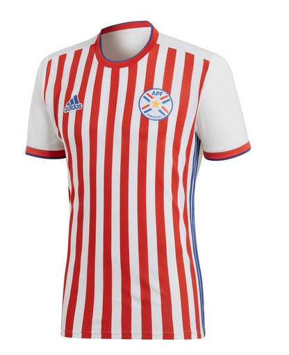 Paraguay 2019 maillot foot domicile Copa America 2019