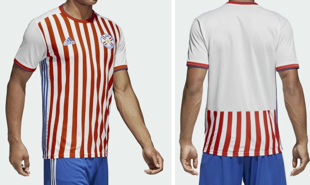 Paraguay 2019 maillot foot domicile Copa America