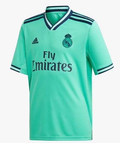 Real Madrid 2019 2020 troisieme maillot third foot Adidas