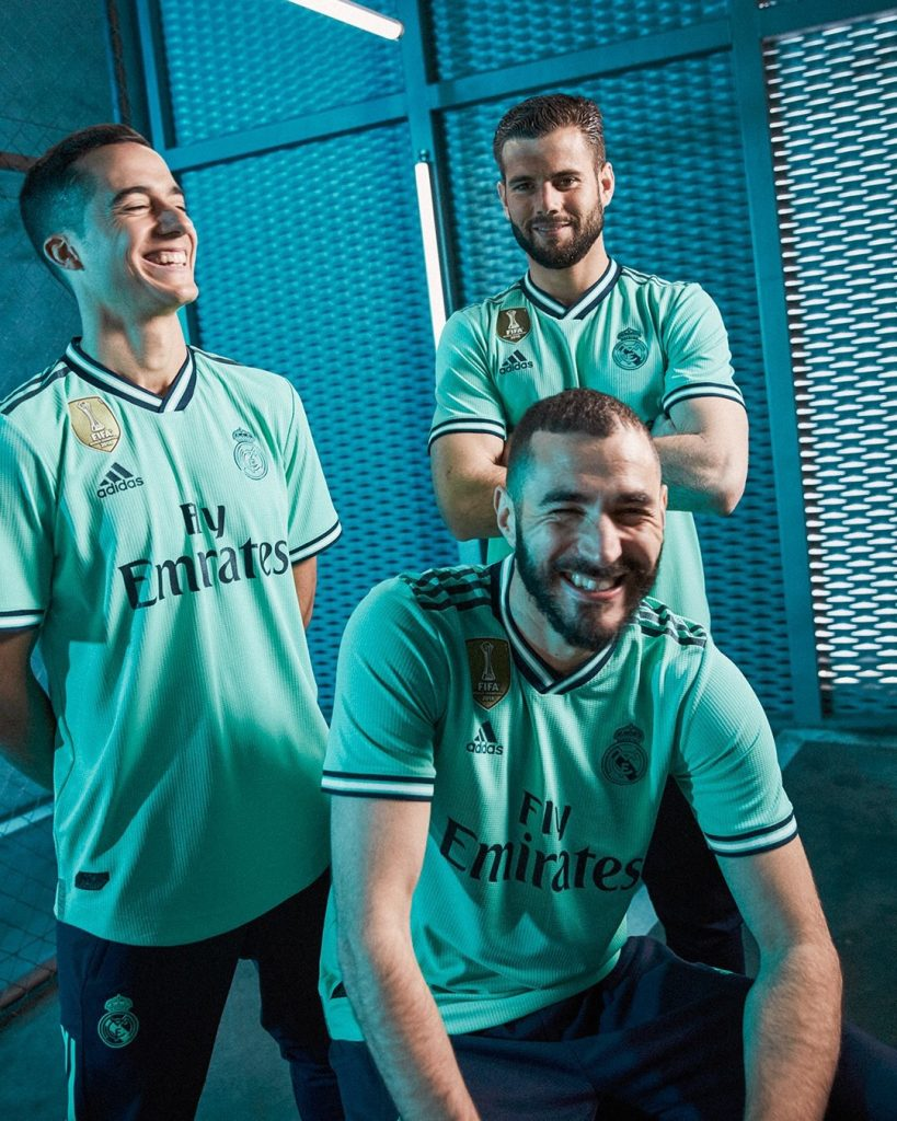 Real Madrid 2019 2020 troisieme maillot third
