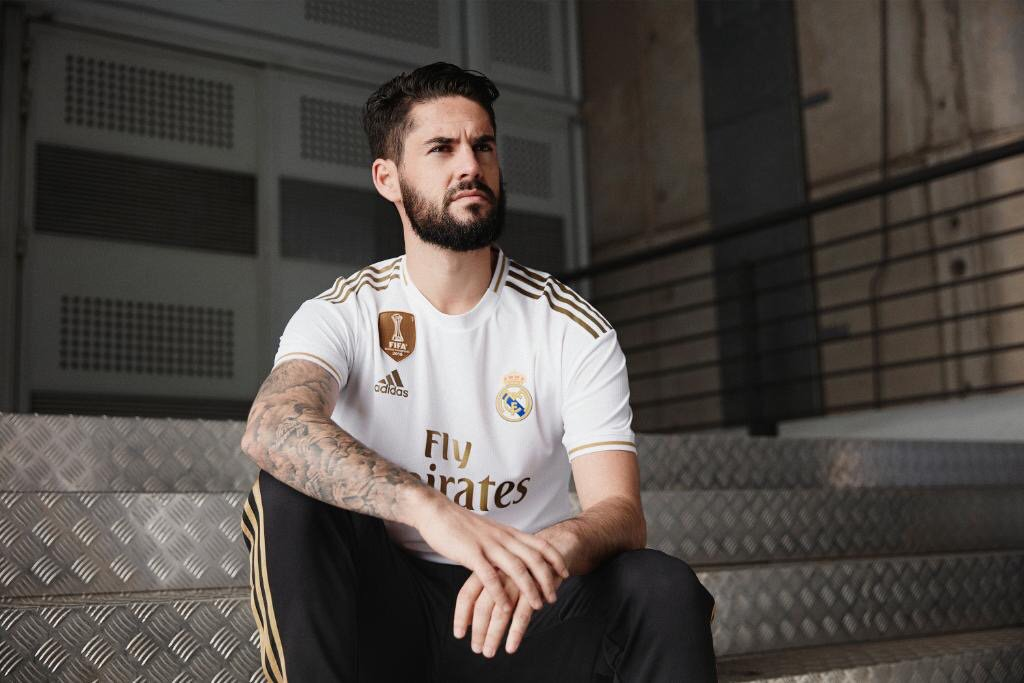Real Madrid 2020 nouveau maillot de football domicile Isco