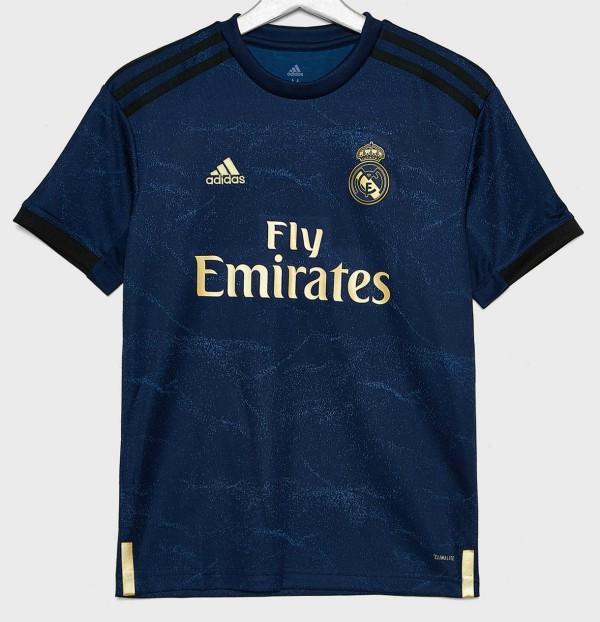 Real Madrid 2020 nouveau maillot extérieur 19 20