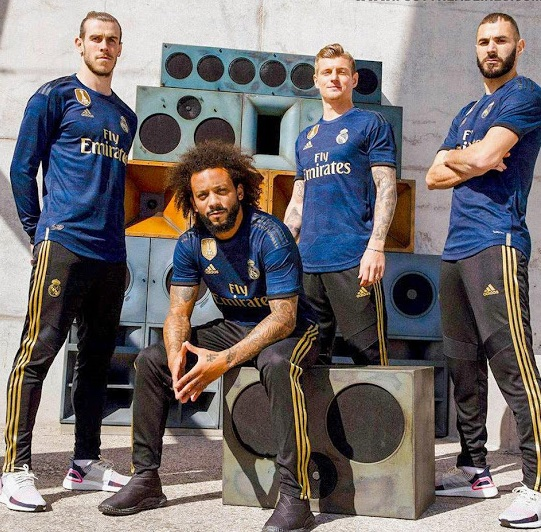 Real Madrid 2020 nouveaux maillot exterieur foot 19 20