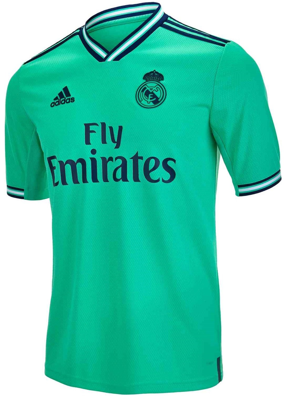 Real Madrid 2020 troisieme maillot third officiel
