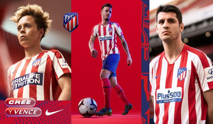 atletico madrid 2020 maillot domicile Nike