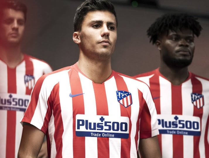 atletico madrid 2020 maillot domicile foot 19 20