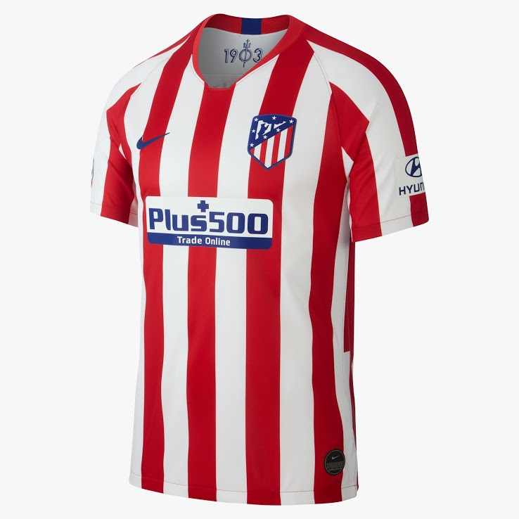 atletico madrid 2020 maillot domicile officiel