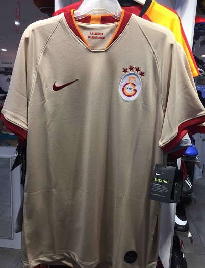 galatasaray 2020 maillot exterieur Nike football