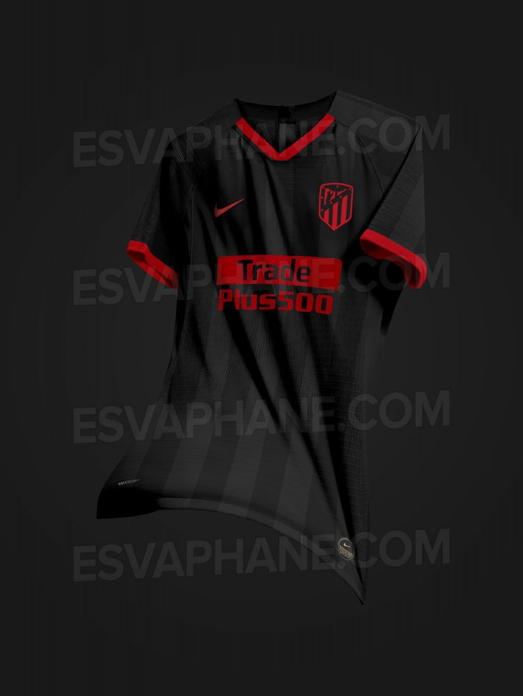 possible maillot exterieur Atletico Madrid 2020