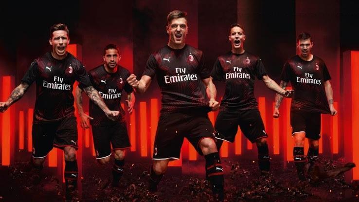 AC Milan 2019 2020 nouveau troisième maillot third